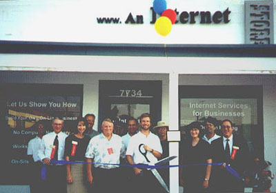 An Internet Store Grand Opening 1999